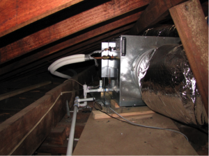 AC in roof